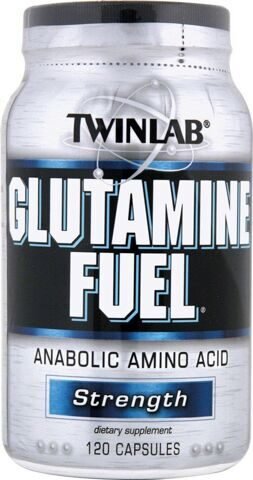 Twinlab Glutamine Fuel 120caps Цена 950 р